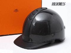 未使用エルメス・HERMESジョッキーヘルメット 黒