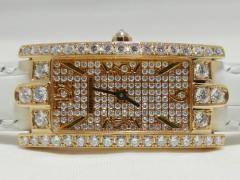 HARRY WINSTON ハリーウィンストン アヴェニュー C レディ フルダイヤモンド 18KY