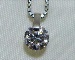 1ct☆ダイヤモンドプチネックレス