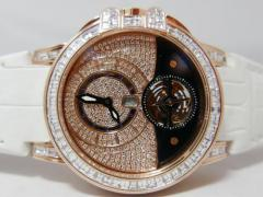HARRY WINSTON 世界限定80本 オーシャン トゥールビヨン RG全面ダイヤモンドコレクシ