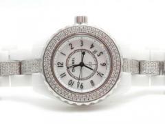 CHANEL(シャネル) J12 33mm ダイヤモンド ホワイト