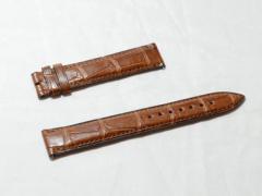 展示処分品☆FRANCK MULLER フランクミュラー 純正革ベルト 茶色 ブラウン