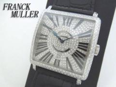 フランクミュラー(FRANCK MULLER) 6000KSCDT W D CD全面ダイヤ