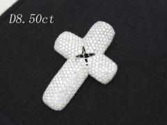 天然ダイヤモンド 高品質クロス8.50ct