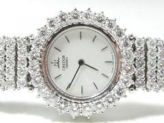 極上品★SEIKO セイコー CREDOR クレドール WG ダイヤモンド D18,1565ct