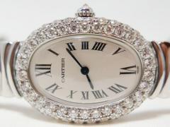 Cartier カルティエ・ベニュワール ラージダイヤモンド ロジウム加工コレクション