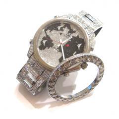 ジェイコブ 47mm用 20ctベゼルダイヤモンド