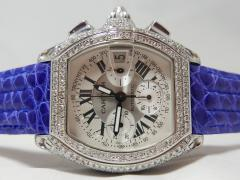 Cartier/カルティエ・ロードスタークロノグラフ 全面ダイヤモンド