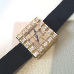 K18☆ショパール・ダイヤモンドコレクション・アイスキューブ