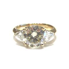 D2.51ct MD0.65ct デザインダイヤモンドリング