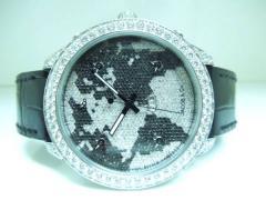 ☆美品☆Jacob & Co. 5タイムゾーン ワールドマップ 全面ダイヤ