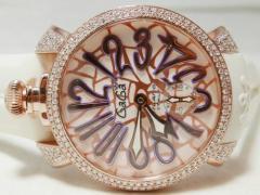 GaGa MILANO ガガミラノ マヌアーレ 48mm ダイヤモンドコレクション