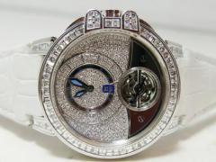 HARRY WINSTON 世界限定80本 オーシャン トゥールビヨン 全面ダイヤモンドコレクション