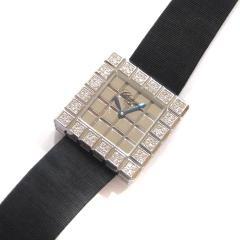 ショパール アイスキューブ K18WG×ダイヤモデル