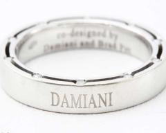 ☆美品☆DAMIANI 750WG D-SIDE ダイヤリング 15号