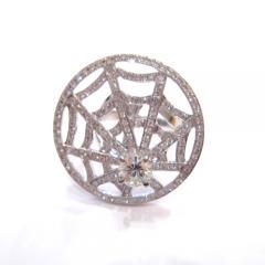クモの巣★ダイヤリング