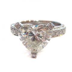 ハートシェイプダイヤモンドリング D4.035ct