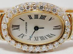 Cartier カルティエ ミニベニュワール YGラージダイヤモンド ハイジュエリーコレクション